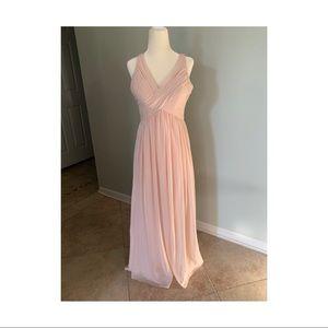 Bill Levkoff Bridesmaid Dress Style 730 Petal Pink